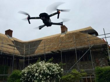 Drone over North Poorton