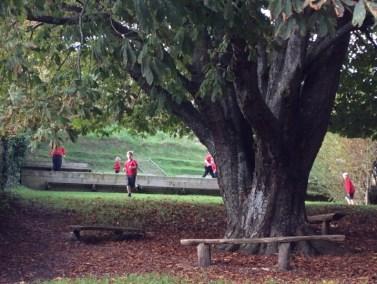 Powerstock School - running the mile