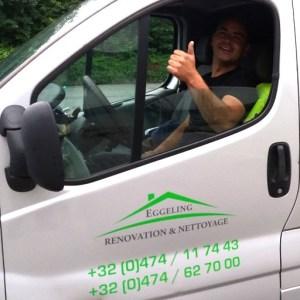 camionnette Eggeling Rénovation & Nettoyage