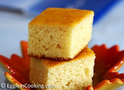 Eggless Vanilla Cake Recipe Eggless Cooking