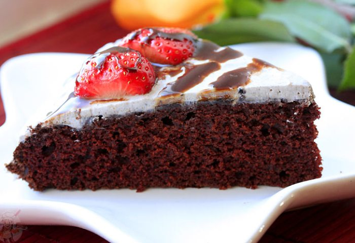 Whacky Vegan Chocolate Cake Recipe Eggless Cooking