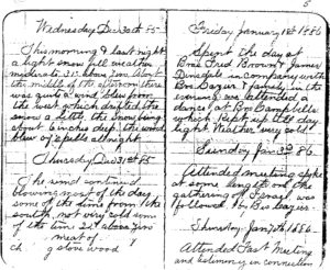 Orson Hyde Eggleston's Journal of the Settling of Afton