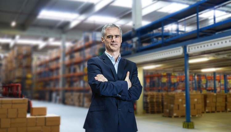 Profile picture of Managing Director Brian O'Reilly warehouse iot