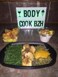 Plats diététiques de Body&CookBZH