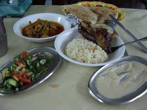 埃及人民日常的「套餐」。