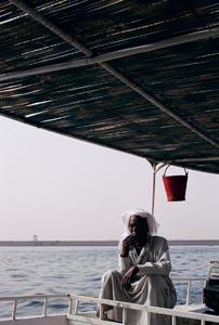 往 Temple of Kalabshah 的船伕。