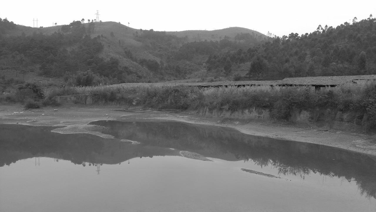 北江沿江村落