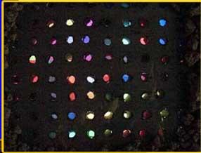 beginning,video sculpture, Jan 2002