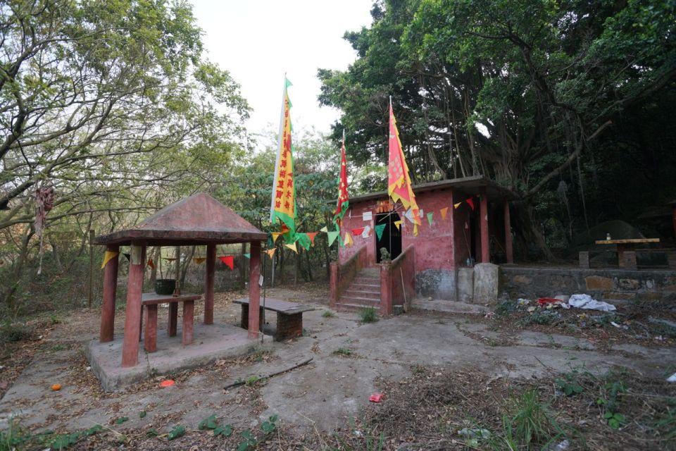 2013 年到訪煤灰湖一山之隔的洪聖廟。