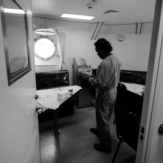 船員休息室