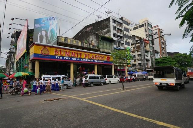 Cafe Sule Yangon Buffet Price