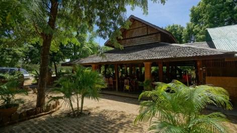 位於 Bagan 之餐廳。