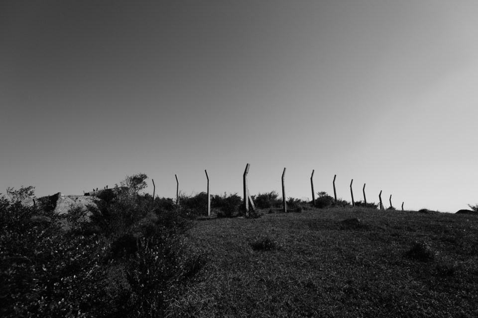 大帽山軍營遺址。