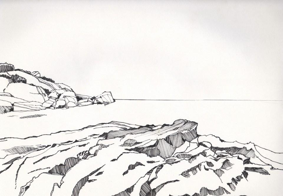 《岩岸 》