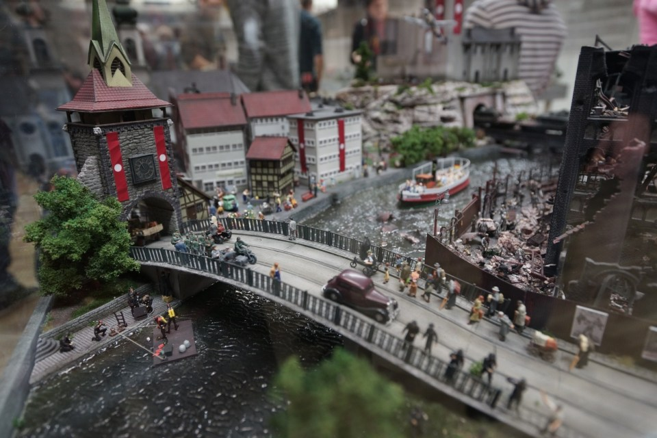 講述德國柏林從森林發展至文明城市的特別展區。
