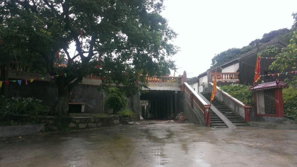 巽寮半島山上的庵堂。