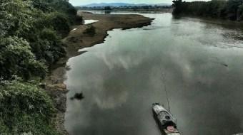 秋香江與東江的匯合。