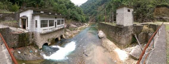 川龍峽下游水電站