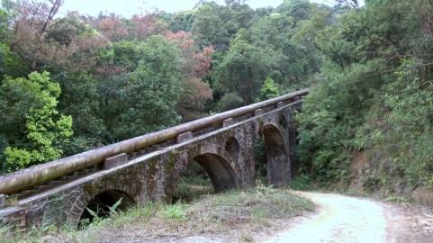 大水管的拱跨極具特色。