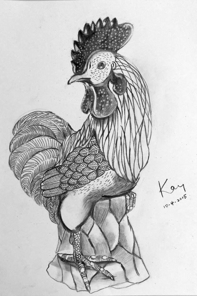 陶瓷彩雞(課堂示範)
