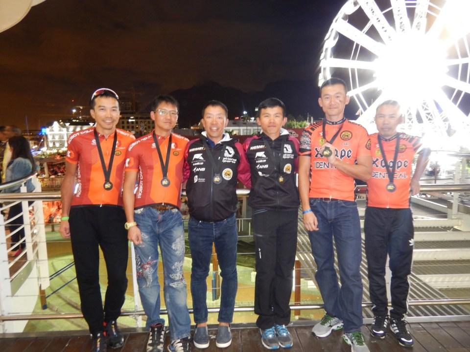 三支香港車隊成功完成 2016 Cape Epic。