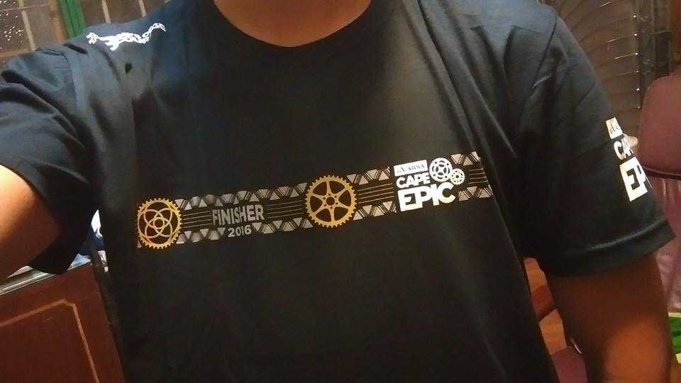 Finisher T-Shirt.