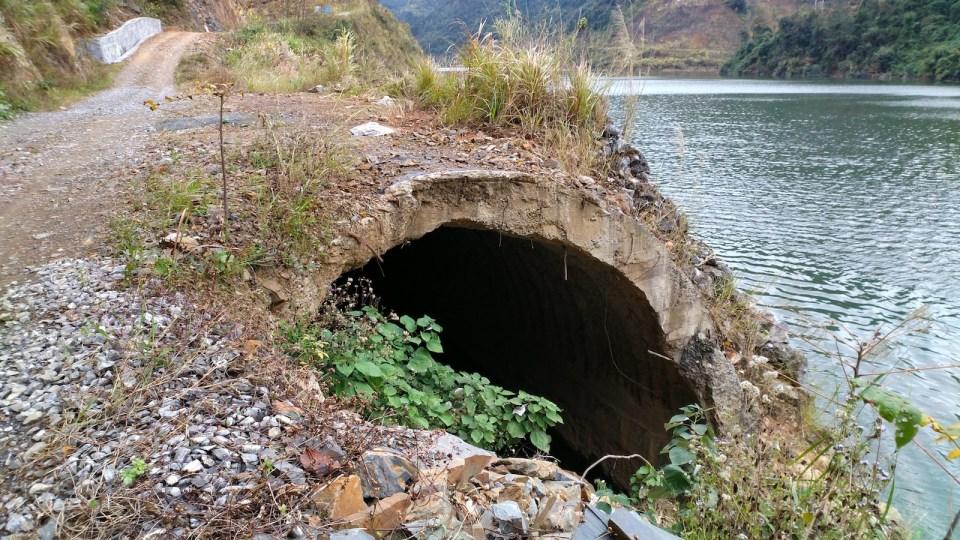 樹霜頭隧道另一端。
