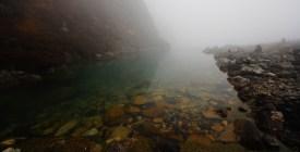 第一個湖十分細小,像小水潭,它的湖水是從第二個湖流下來。