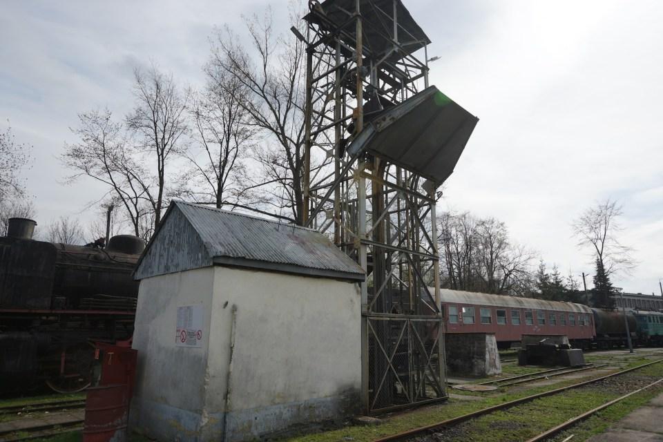 很少在博物館裏能夠看見的裝煤塔。
