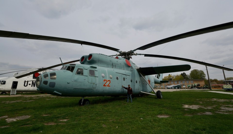 自由自在博物館(3)基輔航空博物館