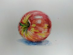 Color pencils 14.8cm x 21cm 6-9-2017
