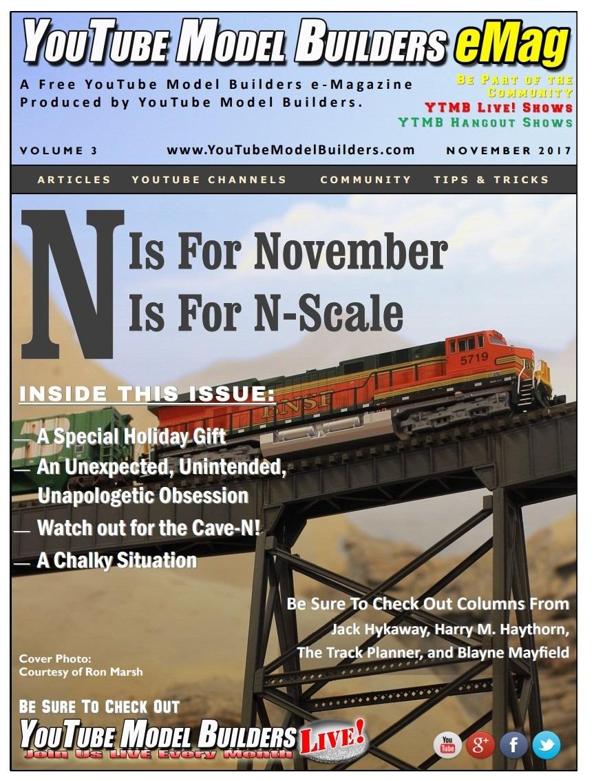 YouTube Model Builders Magazine (eMag) Vol. 3 - Nov 2017