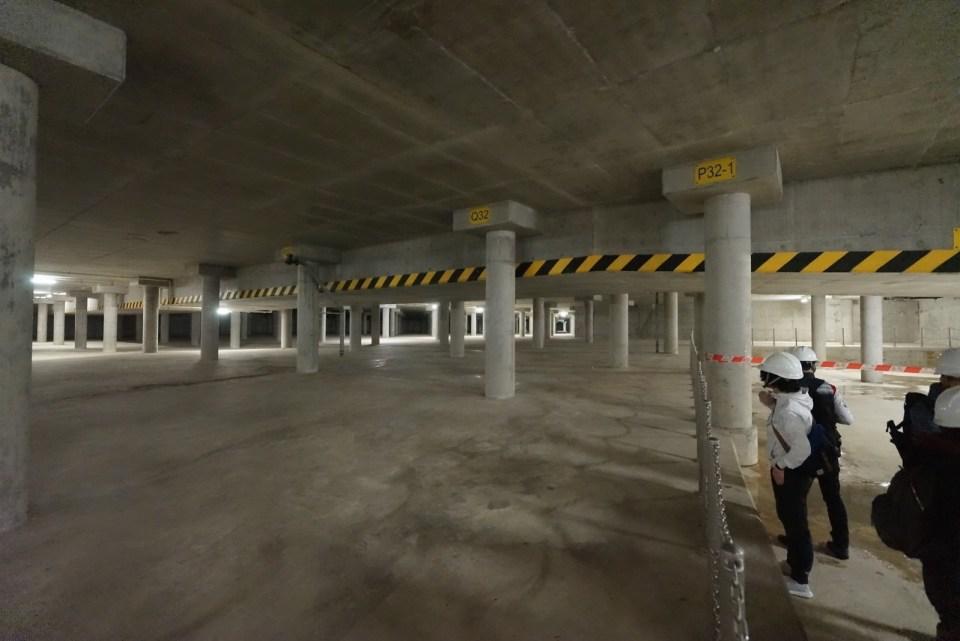 香港島「地下宮殿」跑馬地蓄洪池