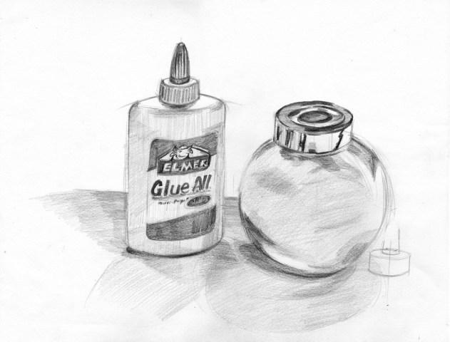 白膠漿及鹽樽