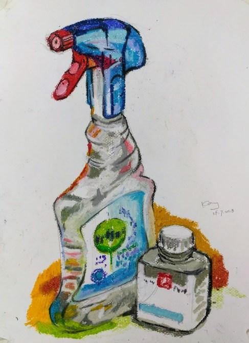 清潔劑及遮蓋液(課堂示範)