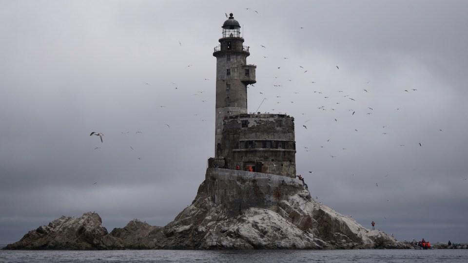 Aniva Lighthouse (中知床燈塔)