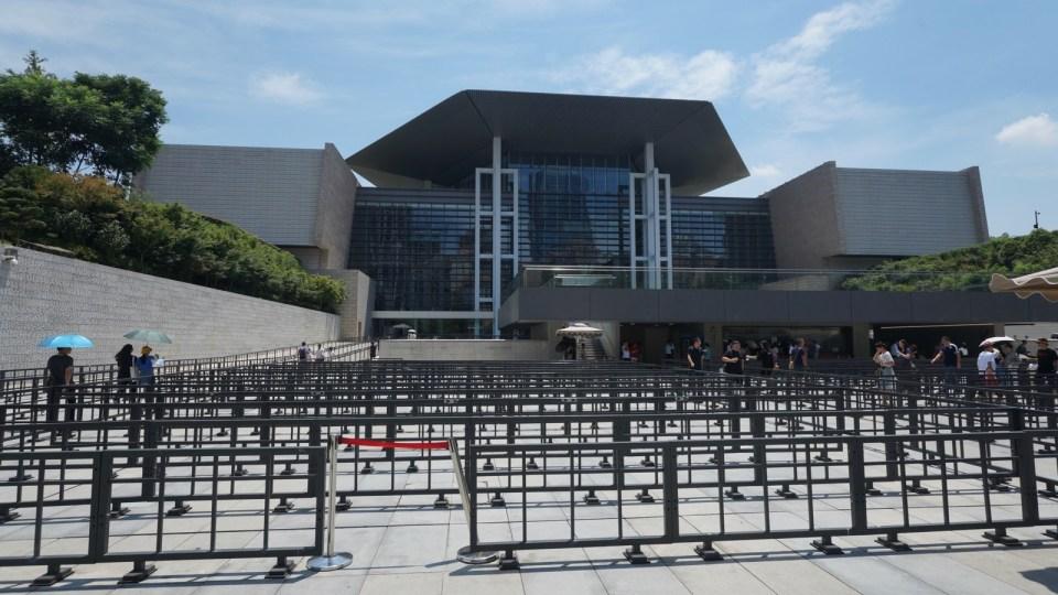 現今「第三代」湖南省博物館。