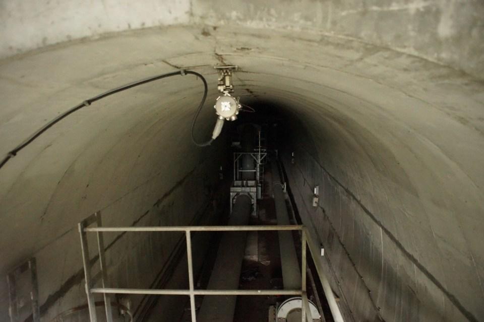 隧道不能進入。隧道內照片請另看香港大笪地相關內容。