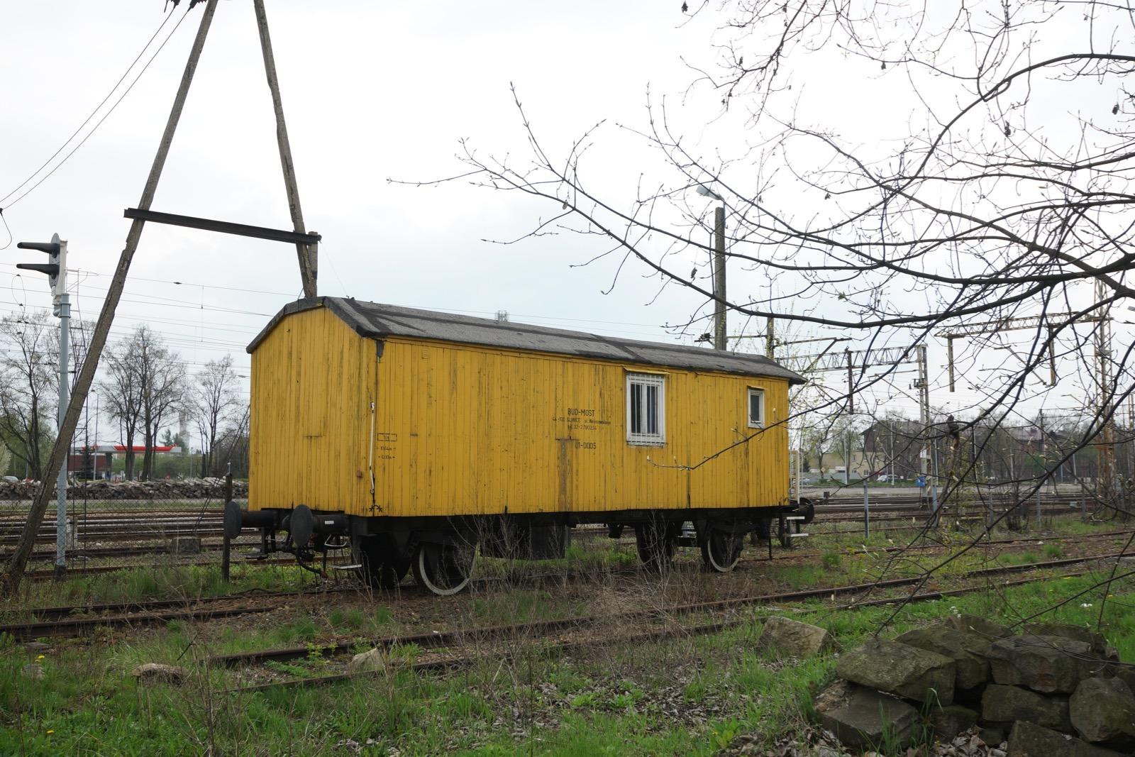 波蘭奧斯威辛火車站隨影