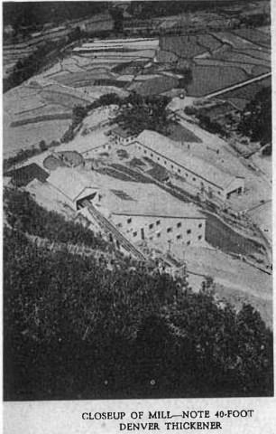 30 年代的蓮麻坑選礦廠(圖片來自《Deco Trefoil, 1938 年 11 月號》)