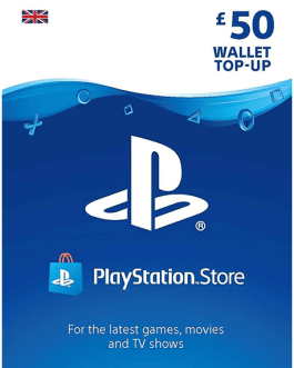 PlayStation Gift Card 50 GBP