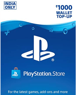 PlayStation Gift Card 1000 INR
