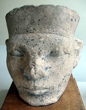 Posible cabeza del rey Narmer - Museo Petrie UC 15989 -