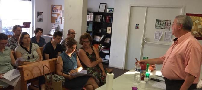 Réunion d'information sur le projet de construction de notre nouveau lieu de culte à Cenon