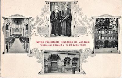 1893-carte postale pasteur Degremont