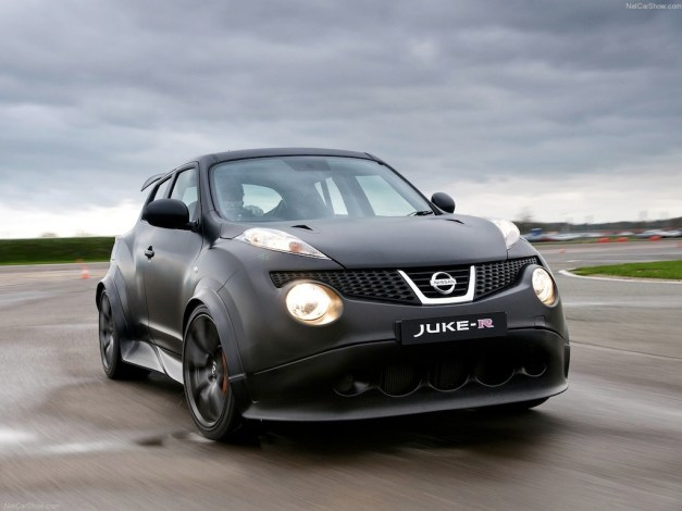 Nissan Juke-R Concept fully revealed, only two will be made and they are road-legal
