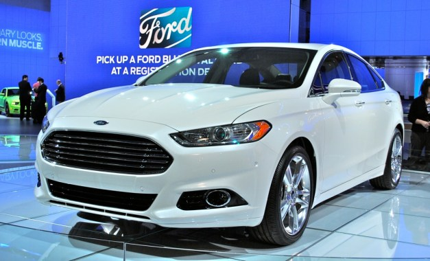 2012 Detroit: 2013 Ford Fusion