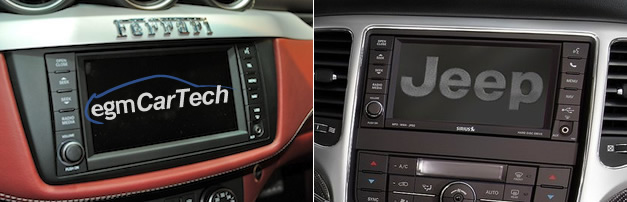 Exclusive: Ferrari uses the same touchscreen center display as the Jeep Grand Cherokee
