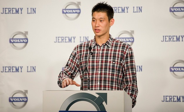Volvo inks deal with Jeremy Lin for an endorsement contract