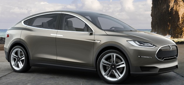 Report: Tesla Model X to come only in AWD